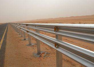 China Hot Dip Galvanized W Beam Highway Guardrail Easy Install High Safety Performance supplier