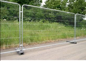 China Galvanized Temporary Mesh Fence Removable Easy Installation 2.1m Height supplier