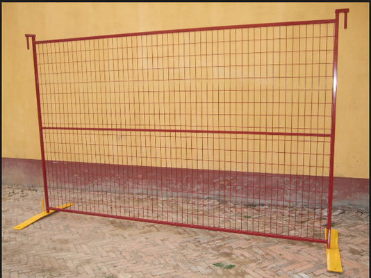 China Commercial Building Site Security Fencing Panels Anti Climb High Flexibility supplier