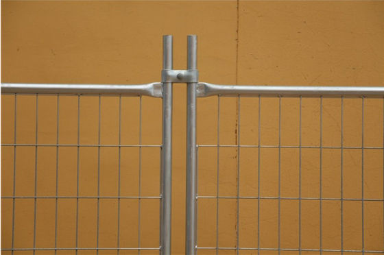 Temporary Security Fence Panels , Building Site Fencing 2.4m Length