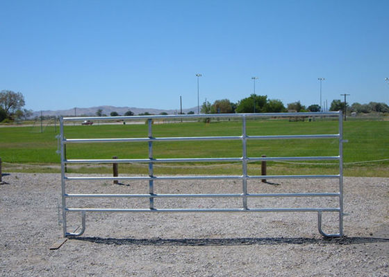 China Eco Friendly Portable Cattle Fence Panels / Heavy Duty Corral Panels supplier