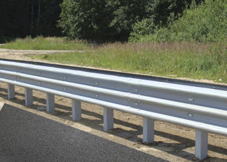 Professional Highway Guard Rail With CE / ISO9000 Certificate Corrosion Resistant