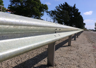 China High Intensity Metal Highway Barriers , Cattle Guard Rail Various Sizes / Colors supplier