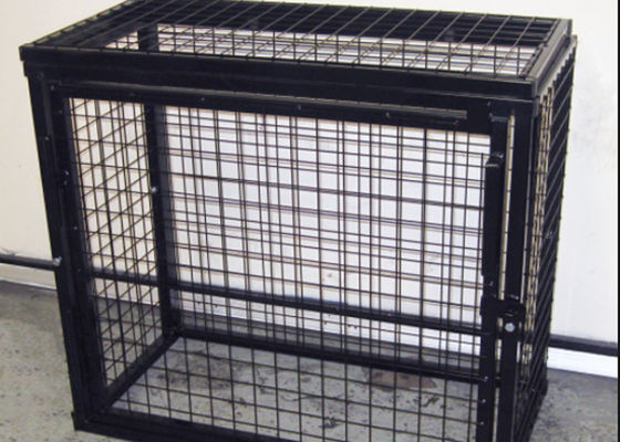 China Heavy Duty Metal Gas Bottle Storage Cage Lockable Cage For Gas Bottles supplier