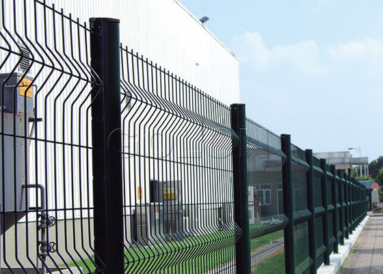 China High Strength Galvanized Curve 3D Wire Mesh Fence 50*100mm Or Customize supplier
