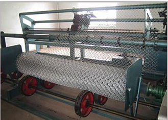 China Mechanical Pvc Wire Coating Machine Chain Link Making Machine Stainless Steel supplier