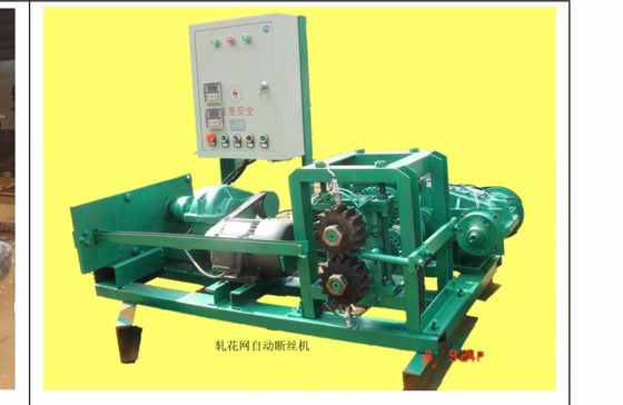 Simple Operation Wire Crimping Machine / Wire Mesh Cutting Machine 2kw Power