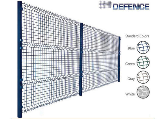 China High Security Welded Mesh Fence For Highway , Railway , Sporting , Garden supplier