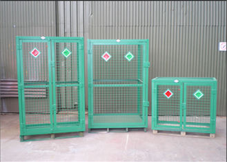 welded galvanized gas cylinder cages with powder coated for industry - Gas Cylinder Cages