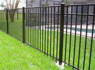 China High Security Outdoor Metal Fence Decoration For Home And School supplier