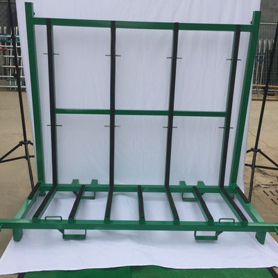 Spray Paint Finish Defensive Barrier A Frame Rack Glass Storage Racks