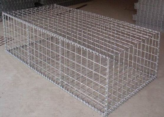 China Construction Galvanized Gabion Baskets Retaining Wall 4.0mm-5.0mm Wire Gauge supplier