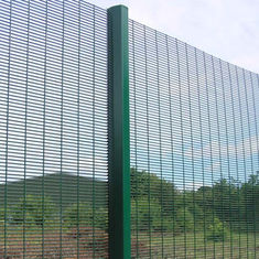 China 358 Safety Welded Mesh Fence , Welded Metal Fence Panels Powder Coated supplier