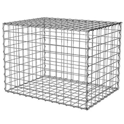 China 100x100x50cm Welded Gabion Wire Mesh Retaining Wall For Building Square Hole Shape supplier