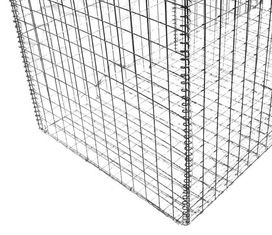 China Construction Gabion Wire Mesh Rock Basket Retaining Wall 4.0mm-5.0mm Wire Gauge supplier