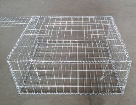 China Professional Protecting Slope Welded Gabion Box Gabion Retaining Wall supplier
