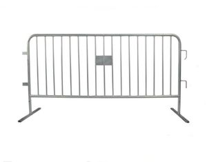 China Customized Crowd Control Road Barriers Safety Temporary Metal Fence Panels supplier