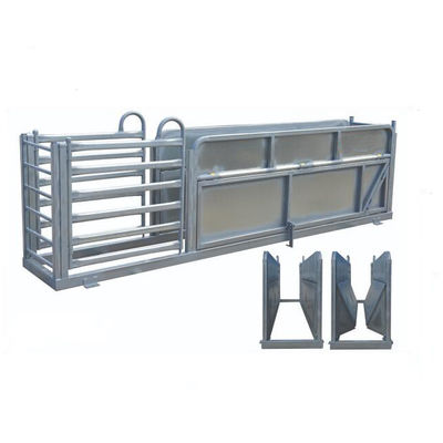 China Heavy Duty Portable Cattle Panels Galvanized Sheep Three Way Draft Race supplier
