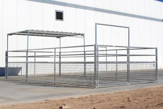 16'W 4- Rail Cattle Corral Panels Horse Corral Panel For US Market