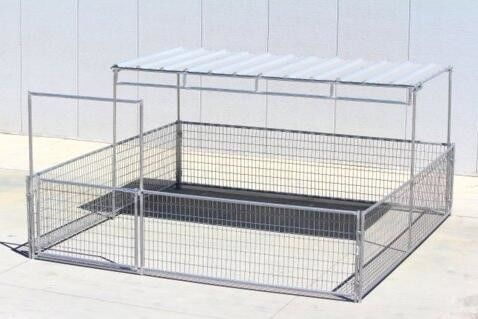China Fully Welded Cattle Corral Panels 4- Rail Livestock Metal Fence Panels supplier