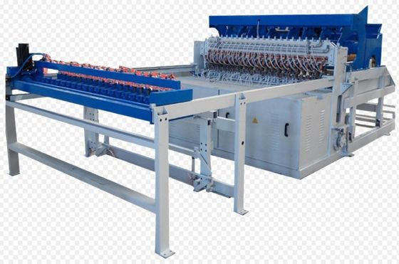 China Semi-Automatic Welded Wire Mesh Fencing panel Machine 50*50 Mm-200*200 Mm Mesh Size  supplier