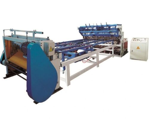 Heavy Duty Wire Mesh Making Machine / Expanded Wire Mesh Machine ISO CE Passed