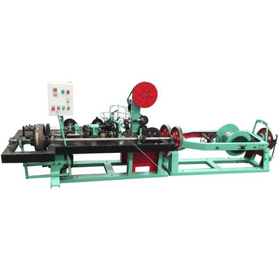 China Two Wire Twist Barb Wire Chain Link Machine With Easy Operate And High Output supplier