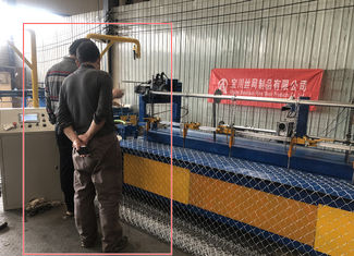 Baochuan New Machine Fully Automatic Chain Link Machine For 2-6m Width