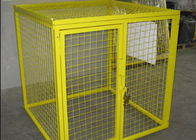 Multi Colors Flammable Storage Cage , Gas Bottle Safety Cages Removable