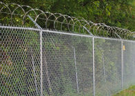 China Chain Link Fence Top With Barbed Wire Or Razor Wire In High Security company