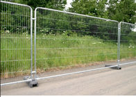 Galvanized Temporary Mesh Fence Removable Easy Installation 2.1m Height