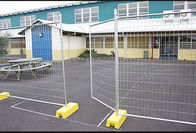 China Freestanding Temporary Fencing For Construction Site 17*150mm Mesh factory