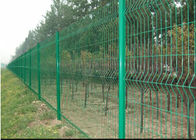China Vandal Resistant Welded Mesh Fence Heavy Gauge Wire Mesh Powder Coating factory