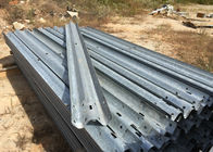 China Anti Aging W Beam Highway Safety Barriers For Railway / Bridge / Road 4320mm factory