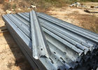Anti Aging W Beam Highway Safety Barriers For Railway / Bridge / Road 4320mm
