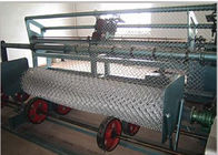 China Mechanical Pvc Wire Coating Machine Chain Link Making Machine Stainless Steel factory