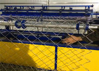 China Semi Automatic Chain Link Fencing Machine / Fencing Net Making Machine factory