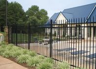 China Pool Fencing and 3 Rails Safety Fences With Materail Steel Or Aluminum factory