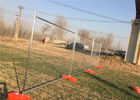 Professional Custom Temporary Mesh Fence / Temporary Metal Fencing