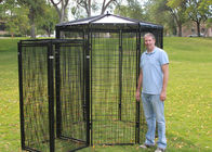 Walk In Safety Catch Cages , Aviary Bird Cage 3.0m Length ISO9001 Listed