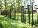 China Steel tube fence high in 2000mm can use more than 20 years company