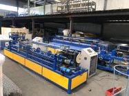 High Efficiency Iron Fully Automatic Chain Link Machine For 2-6m Width