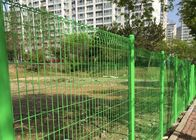 PVC coated welded 3d curved wire mesh fence / Welded Mesh Fence