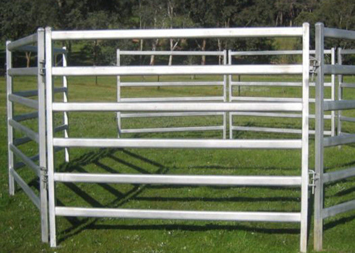 Easily Setup Metal Farm Fence Pipe Corral Panels For