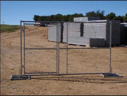 Pvc Coated Temporary Construction Fence Panels Temporary