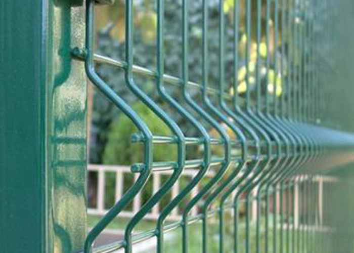 Stainless Steel Welded Wire Mesh Panels , Vinyl Pvc Coated Welded ...