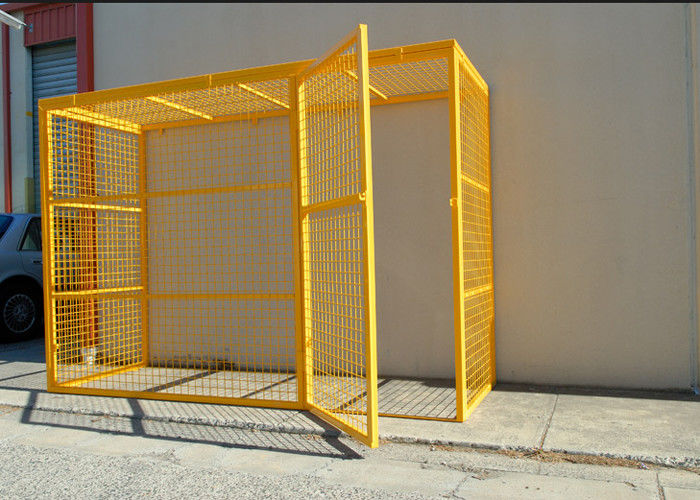 Folding Steel Stackable Storage Cage Design Metal Cages