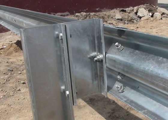 Excellent Impact Resistance Metal Beam Guard Rail High Safety Performance