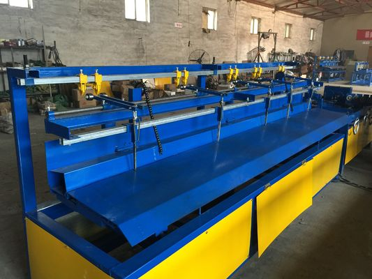 Double / Single Wire Fully Automatic Chain Link Fence Machine Serve Motor