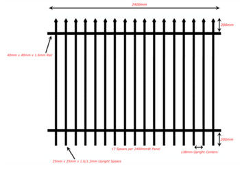 Colors House Gate Designs And Wrought Iron Fence / Steel Fence